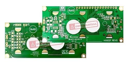 Aggiornamento PCB LCD WH1602B/K