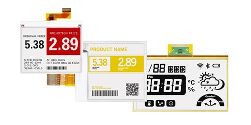 E-Paper:  Graphic & Segment code