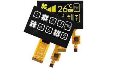 OLED with Capacitive Touch Panel