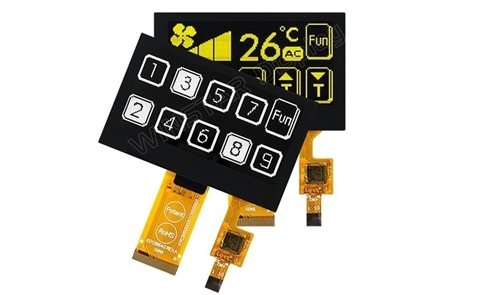 OLED con Touch Panel Capacitivo
