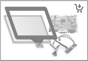 Immagine per la categoria Touch Display Kit Solutions