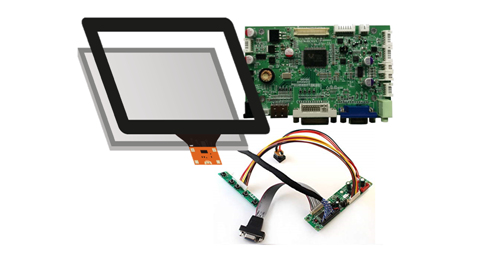 Touch LCD Kit & Industrial Monitors