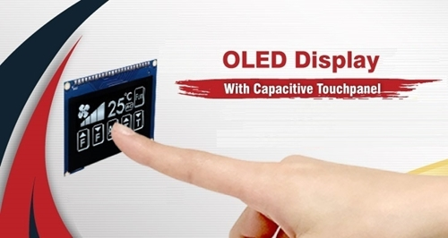 PMOLED with Capacitive Touch Panel