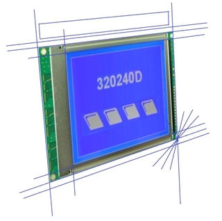 Picture of Custom Graphic LCD