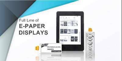 Small & Medium Size Color E-paper