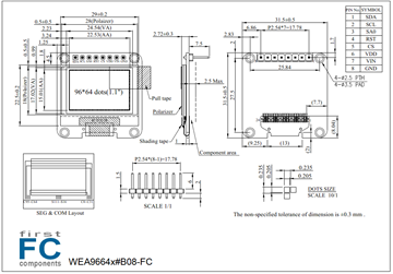 Picture of WEA9664L#B08-FC