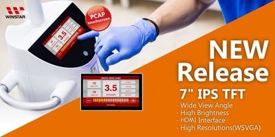 TFT IPS 7'' Interfaccia HDMI & Raspberry-PI con Touch Panel