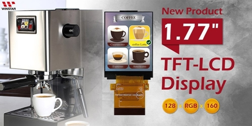 Very Small TFT 1.8'' 128x160 pixels with Capacitive Touch Panel