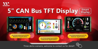Display TFT Intelligenti con Interfaccia CAN Bus