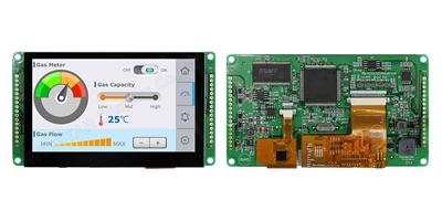 "Smart TFT Display 4.3"" 480x272 Interfaccia CAN Bus + CTP"